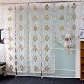 Тюль в современном европейском стиле с вышивкой  занавеска для спальни  гостиной  панель для домашнего декора  прозрачная белая мягкая зана...