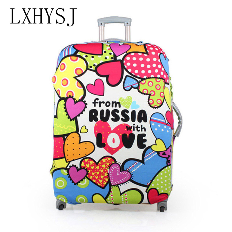 LXHYSJ 18-30 inch Luggage Protective Cover Suitcase suitcase trolley case dust cover Perfect elastic travel accessories(China)