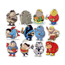 32 Pieces Fat Marvel Heroes Stickers Set