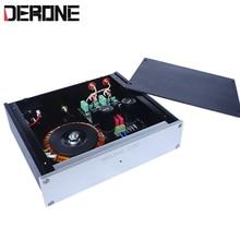 Немецкий двойной Hi Fi проигрыватель Phono, усилитель мм/МЦ для профессионального аудио оборудования Phono Stage