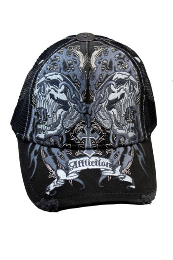 12e04ce23c2 Embroidered Skull Cross Tattoo Baseball Hat Cap Fashion Cool Black  adjustable unisex freeshipping