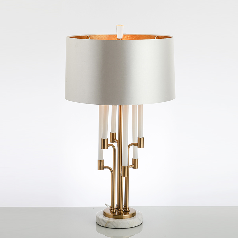 Modern Minimalist Bedside Table Lamp with Marble Base Lampe de chevet Study Hotel Decoration Glass Metal 5 Frais Lampe De Chevet Metal Design Kgit4
