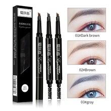 Карандаш для бровей make-up молочница водонепроницаемый длительный МАКИЯЖ черный коричневый карандаш для бровей