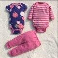 Roupa Do Bebê recém-nascido Menina Menino Infantis Corpo Bodysuit Do Bebê de Manga Longa Super Macia