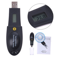 Cheaper HT-163 Barometric Pressure Temperature Humidity Data Logger Recorder USB Thermometer Hygrometer Barometer PC Connecting