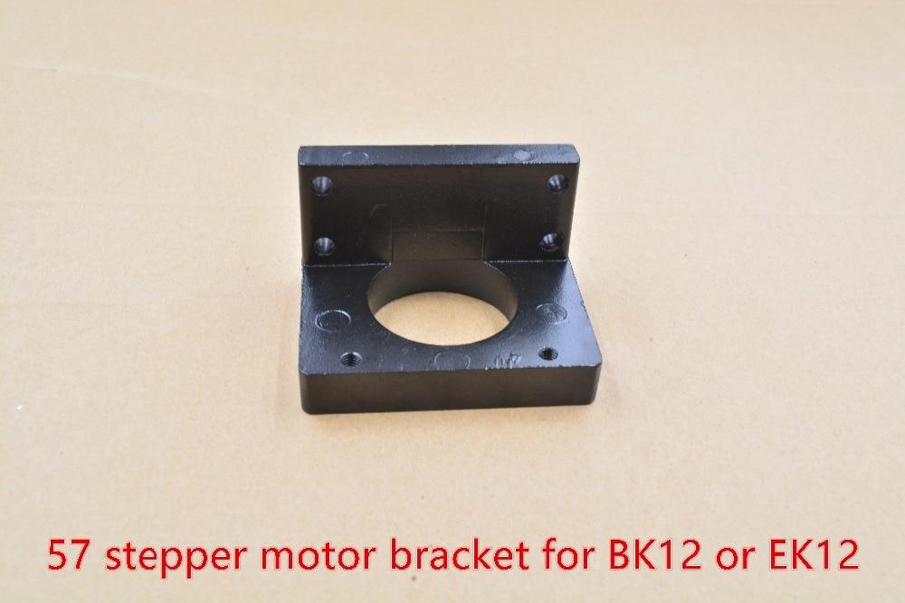 57 support moteur pas à pas nema 23 siège fixe hauteur centrale du siège 25mm pour siège de soutien BK12 EK12