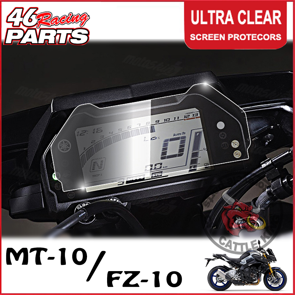 CK CATTLE KING Cluster Scratch Cluster Screen Protection Film Protector For Yamaha MT-10 MT 10 MT10 FZ-10 FZ 10 FZ10 2016-2017