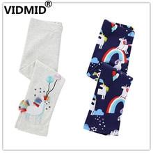 VIDMID Kids Leggings for Girl Pants childrens Animal Print Skinny Baby baby Children Trousers girl Cotton Clothes