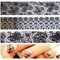 Beleza Adesivos para Unhas Rendas Unhas Adesivos Tudo para Unhas Design Arte Adesivos Tudo para Manicure Minx Wraps MJ1031