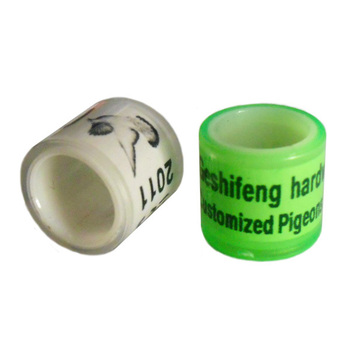 free shipping 100pc FULL plastic free color pigeon ring bands