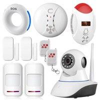 720P Wifi Wireless Home Security Alarm Sensors IP Camera Security Network CCTV Surveillance Camera IR Night