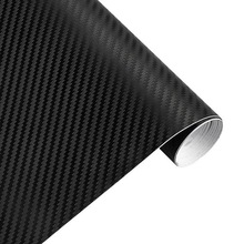 127cm*30cm Car Sticker 3D Carbon Fiber Vinyl Film Waterproof Car Wrap Sticker Decals for Motorcycle Auto Car Styling Automobile(China)