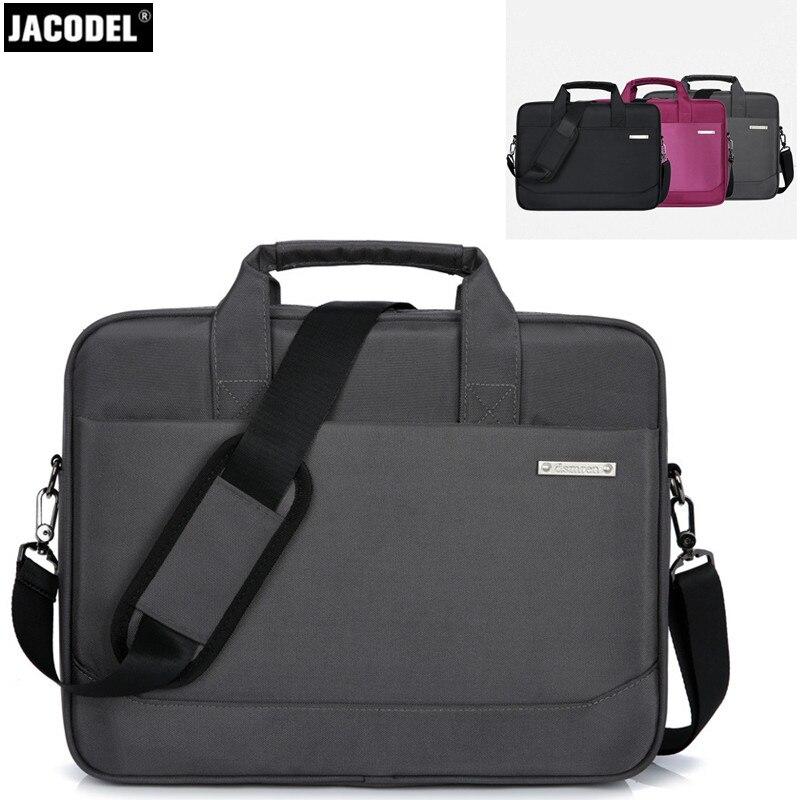 Jacodel Laptop Shoulder Computer Bag for Women Men 14 15 inch Laptop Bag New Laptop Handbag Men Women Laptop Briefcase Messenger