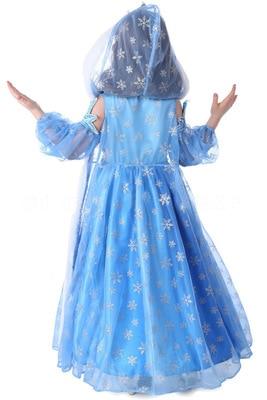 Girls dresses cotton princess long sleeves children Frozen dress prom dress Christmas dress skirt