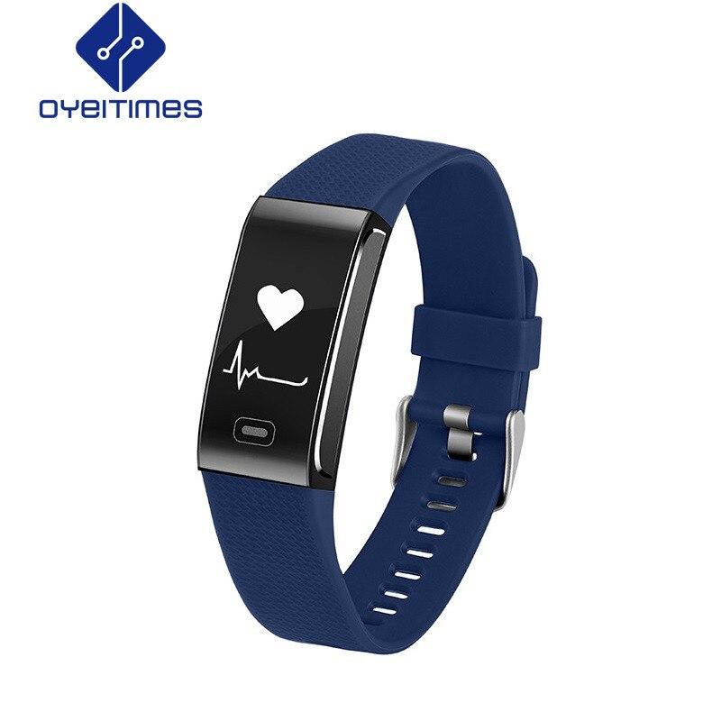 OYEITIMES CK18 умный Браслет трекер сна приборы для измерения артериального давления сердечного ритма мониторы фитнес трекер напоминание с высо