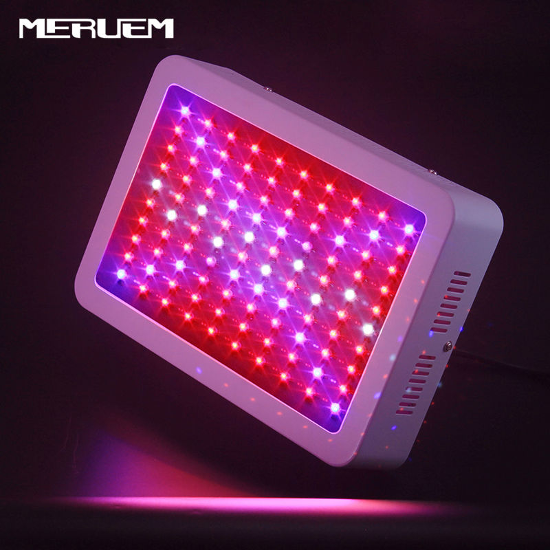 300W 600W 800W 1000W 1200W 1600W Double Chip LED Grow Light Full Spectrum Red/Blue/White/UV/IR lamp For Plant,Flower Greenhouse 600w double chip 100 leds red grow light full spectrum uv ir for indoor greenhouse plant and flower