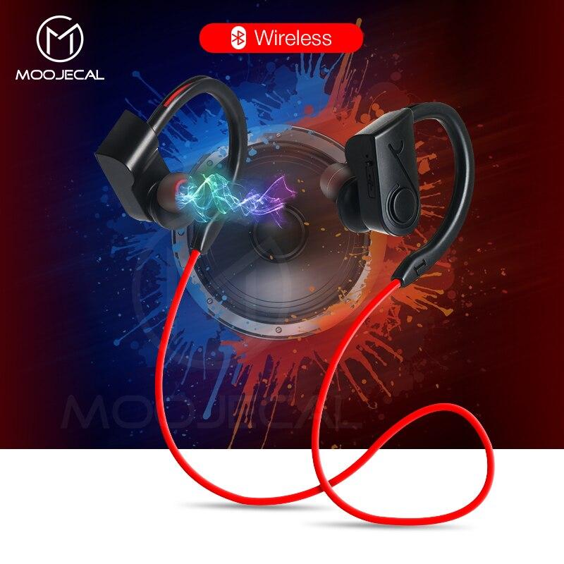 MOOJECAL Sport Bluetooth Kopfhörer Stereo Drahtlose Kopfhörer Mit Mikrofon bluetooth Headsets Ohrhörer Für Telefon kulakl xiaomi