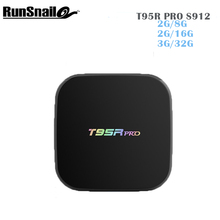 T95RPRO Android Box Amlogic S912 Quad Core 3GB 32GB KODI 17.0 With Bluetooth model display Support Smart Media Player PK H96PRO+