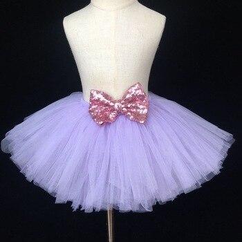 804743a3e Niños bebé niñas faldas 2019 bailar sólido elástico falda Tutu vestido de  Ballet de disfraces ...