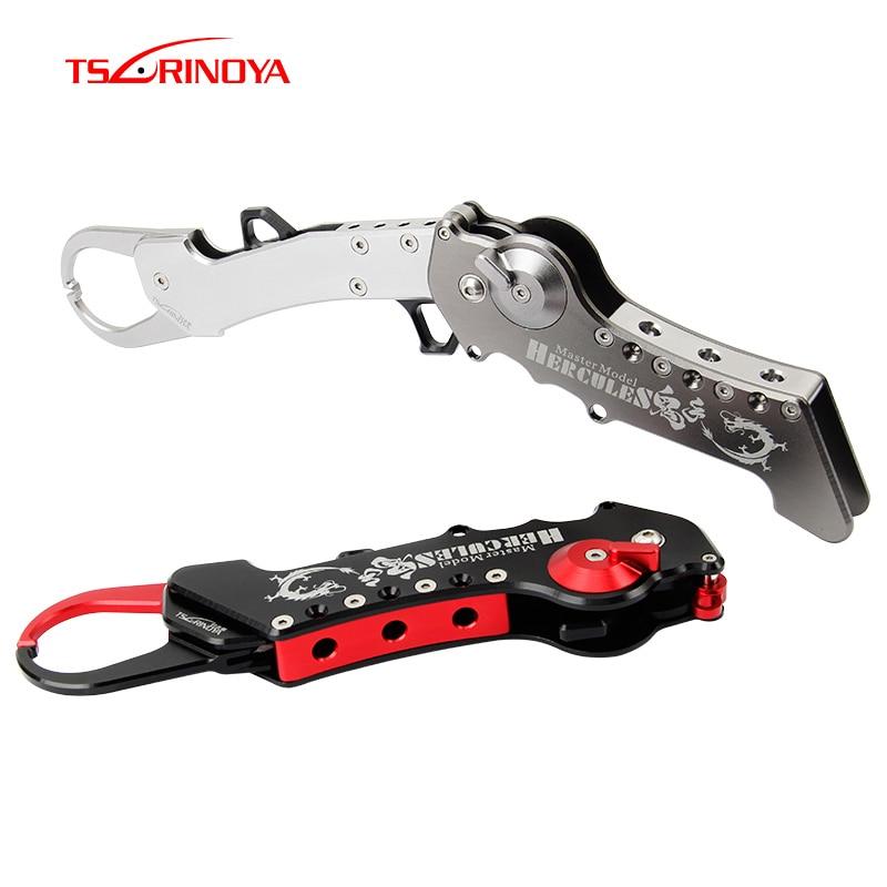 TSURINOYA 190g/18.8 cm Aviation aluminium pince de pêche pliant contrôleur de poisson outils de pêche accessoires Pesca
