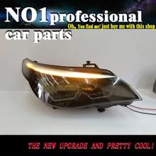OUMIAO 2 шт. автомобильный Стайлинг для 5 серий E60 головной светильник s 2003-2007 для E60 светодиодный головной фонарь Ангел глаз светодиодный DRL передний светильник ксеноновые линзы