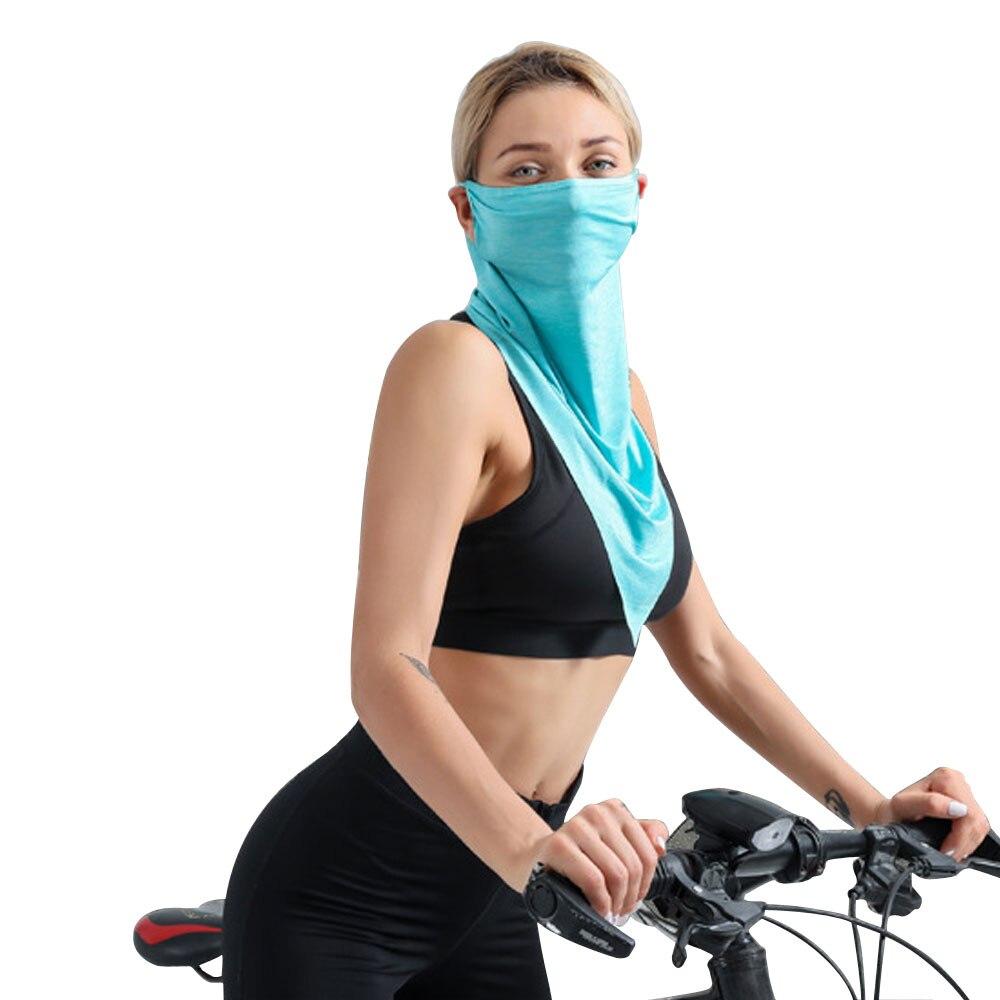 1Pcs Outdoor Face Mask Neck Gaiter Fishing  Sun Tube Bandana Windproof UV Protection