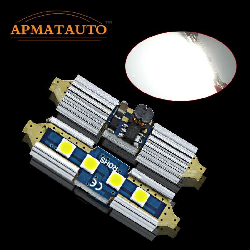 2 X Новый Белый 6000 К 36 мм licese номер плиты лампа Canbus <font><b>LED</b></font> для <font><b>Skoda</b></font> <font><b>Octavia</b></font> Superb 12 В