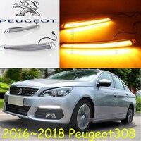 2016~2018,Peugeo 308 daytime light; Free ship!LED,Peugeo 308 fog light,206 307 3008 4008 508;Peugeo 308;3008,5008