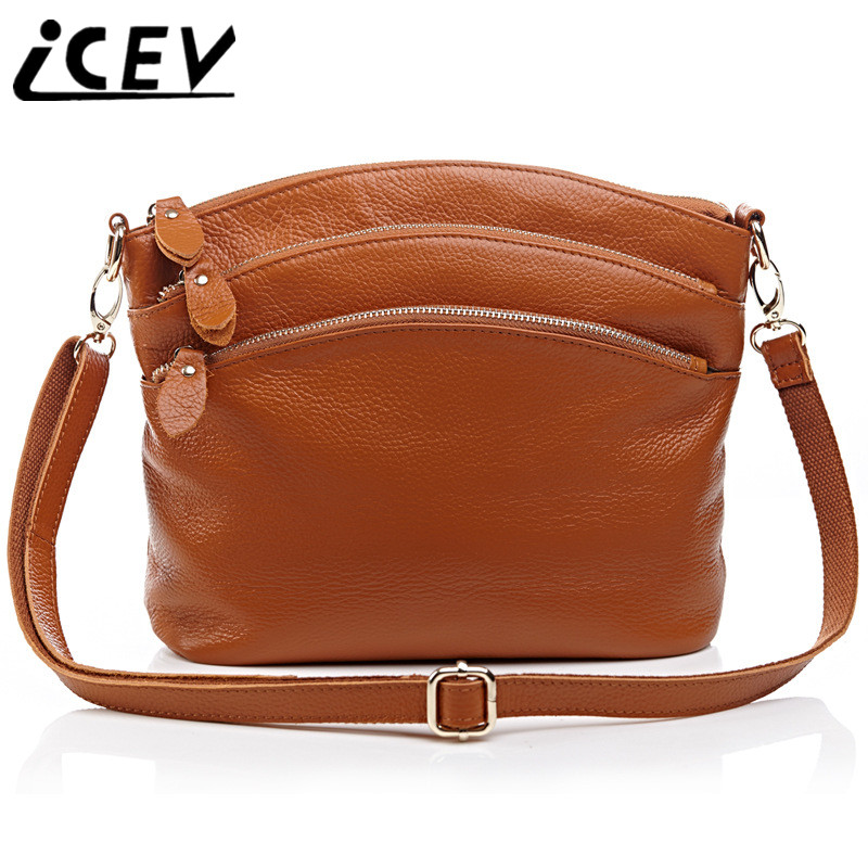 ICEV New Arrival Luxury Handbags Women Bags Designer Genuine Leather Bags Litchi Shell Crossbody Bags for Women Messenger Bags doodoo 2017 genuine leather bags for women fashion women messenger bags luxury brand crossbody bags for women tassel new t538