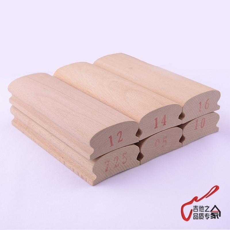1 Piece GuitarFamily <font><b>Radius</b></font> Sanding <font><b>Blocks</b></font> For <font><b>Guitar</b></font> Bass Fret Leveling Fingerboard Luthier Tool image