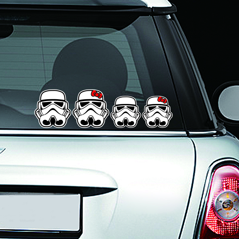 ETIE Car Styling Funny Car Sticker Decal Motorcycle Cool Star Wars - Custom car window decals stickers