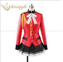 Kisstyle Fashion Amagi Brilliant Park Isuzu Sento Uniform Cosplay Clothing Costume