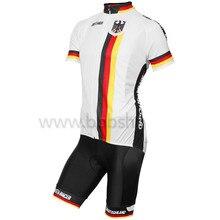 Alemania Equipo de Ciclismo Ropa Ropa Transpirable Camisetas de Ciclismo MTB Ropa Ciclismo maillot Bicicleta Envío gratis