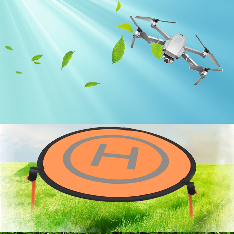 Luminous Foldable Landing Pad Universal Drone Parking Apron Pad for Mavic 2 Pro Mavic Air Spark Phantom 4 for Xiaomi Drone