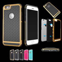 Soft Hybrid Case For Iphone 5 5s Se 6 6s 7 Plus PC Silicone Full Protector