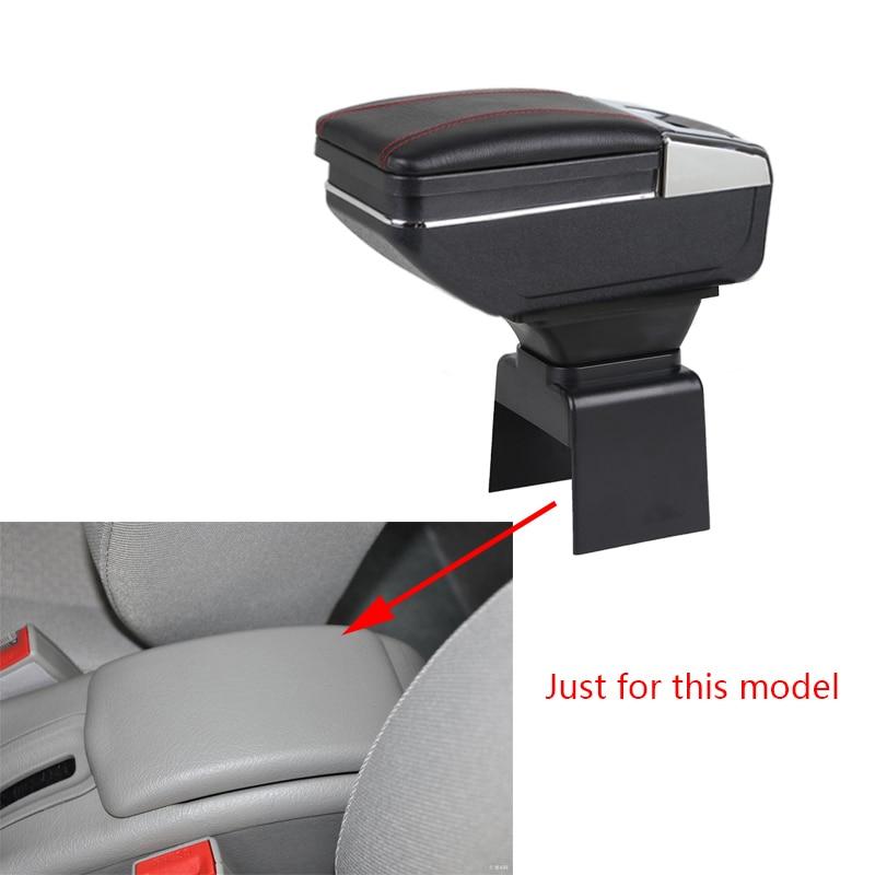 Подлокотник коробка для Citroen Elysee 307 2004 до 2013 Автомобильный Центральный ящик для хранения с подстаканником пепельница подлокотник вращающий