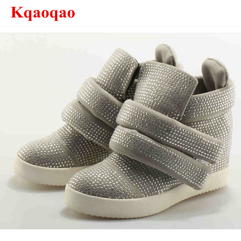 Hot Brand Designer Crystal Flat Platform Summer Women Shoes Casual Sapato Feminino Hook & Loop Mujer Female Shoes Women Flats hot sale summer women shoes cutouts lace canvas shoes hollow floral breathable platform flats shoe sapato feminino zapatos mujer