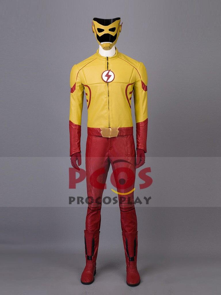 Popular Wally West Flash Costume-Buy Cheap Wally West Flash ...