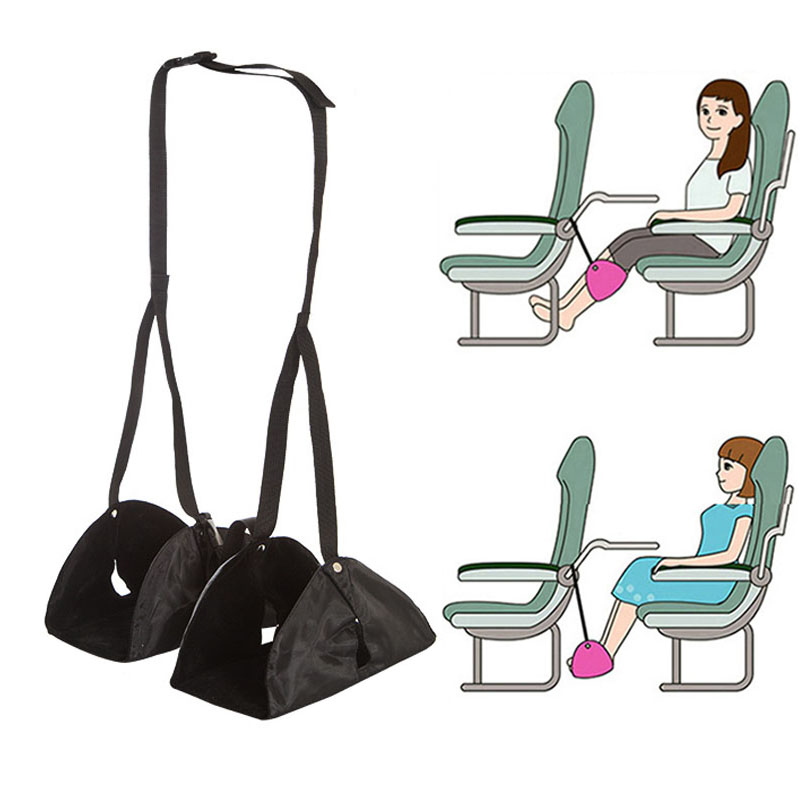 Luggage & Bags Luggage & Travel Bags 2018 New Adjustable Travel Airplane Train Footrest Folding Rest Lounger Leg Hammock Portable Thinkthendo