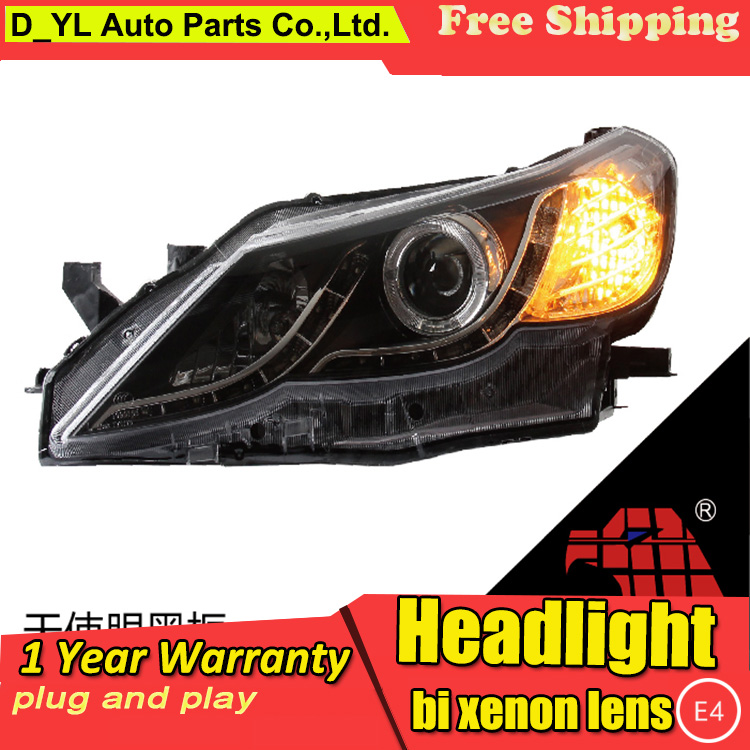 Car Styling For Toyota Mark X headlights 2011 12 Mark X led headlight Head Lamp led