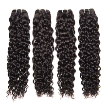 Beyo Water Wave Brazilian Hair Weave Bundles 100% Human Hair Bundles 10inch-28inch Double Weft Natural Color 1PC Non-Remy Hair