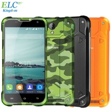 "Blackview BV5000 Original A Prueba de agua Teléfono Móvil 2 GB + 16 GB 4780 mAh 5 ""Android 5.1 Quad Core Rusia MegaFon 4G LTE Smartphone"