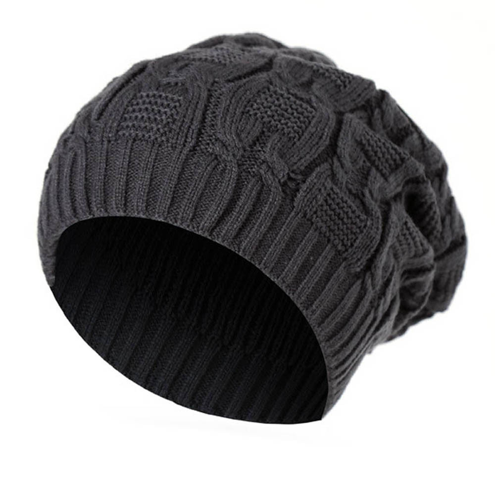 Winter Warm Men Women Knitted Soft Hat Hot Sale Caps Baggy High Quality Skullies Beanies Wool Knit Ski Beanie Caps Hat Female rwby letter hot sale wool beanie female winter hat men