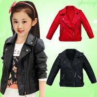 Children S Clothes Girl Coat 2017 Spring And Autumn Clothing New Short Style Clothes The Big