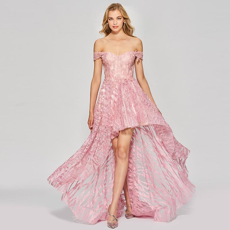 dca5671f57739 Tanpell asymmetry long prom dresses elegant women a line appliques ...