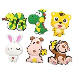 Image 3 - Cute Cartoon Chinese Zodiac animal silicone fridge magnet souvenir fridge refrigerators magnetic Kids  home decor decoration toy