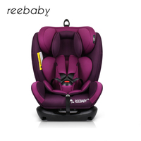 REEBABY Car Child Safety Seat ISOFIX 0 6 Years Old Infant Safety Car Baby Newborn Two