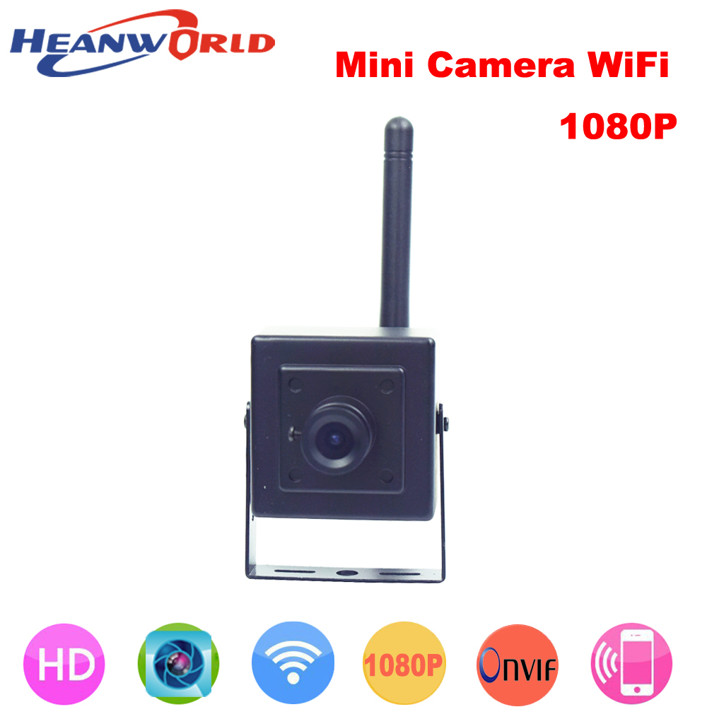 Newest 1080P mini IP camera wifi p2p cam Onvif HD wireless cameras cctv security system network webcam for home door video 1080p full hd onvif outdoor ip camera 2mp security webcam p2p infrared 2 megapixel ip cam network cctv cameras