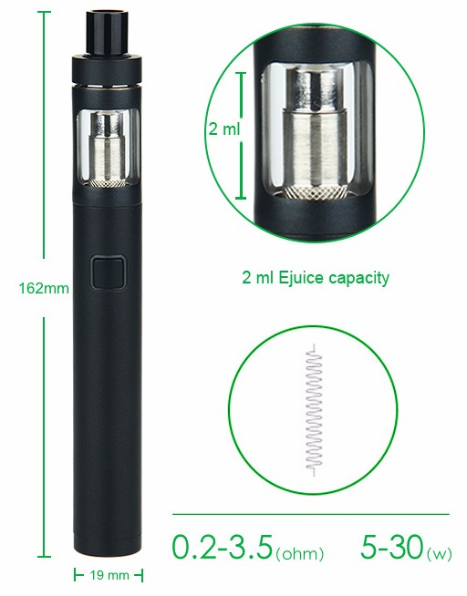 Joyetech eGo Twist+ Kit with CUBIS D19 Atomizer - 1500mAh 1