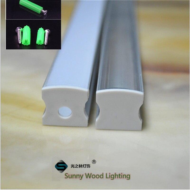 5 30pcs lot 40inch 1m pc led aluminium profile led channel high depeth bar housing for12mm